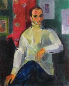 GhNG Vanatoru.Portretul colectionarului Vasile Parizescu