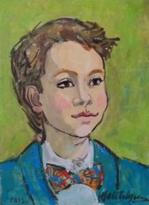 Mariuca Otetelesanu.Portret Mihnea Tita