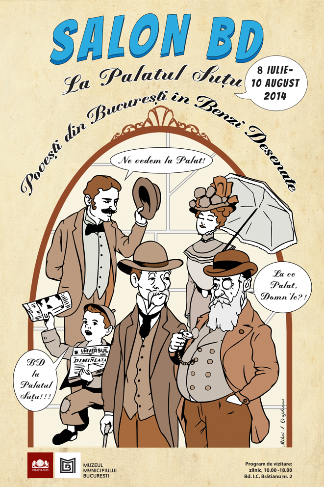 AFIS_Poveşti din Bucureşti în Benzi Desenate