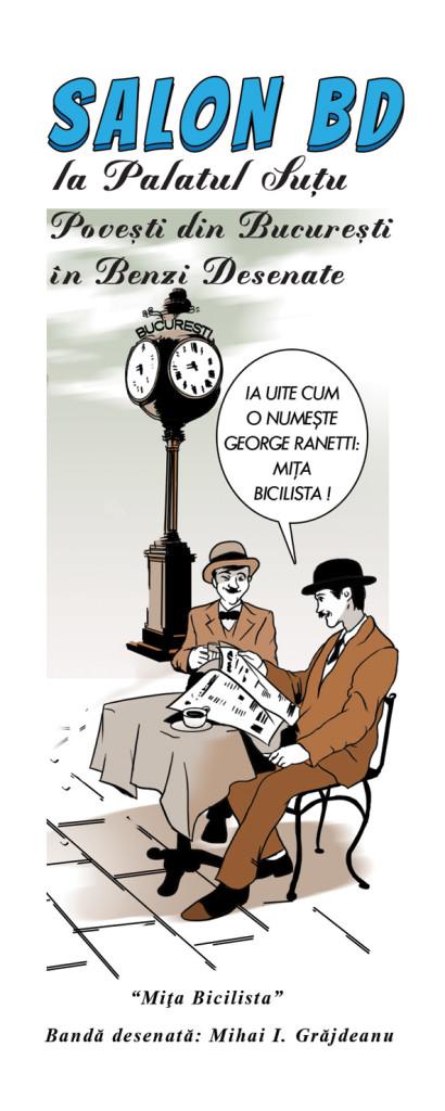 Poveşti din Bucureşti în Benzi Desenate 2