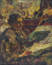 Rudolf Schweitzer-Cumpana. Scena de familie Babaca