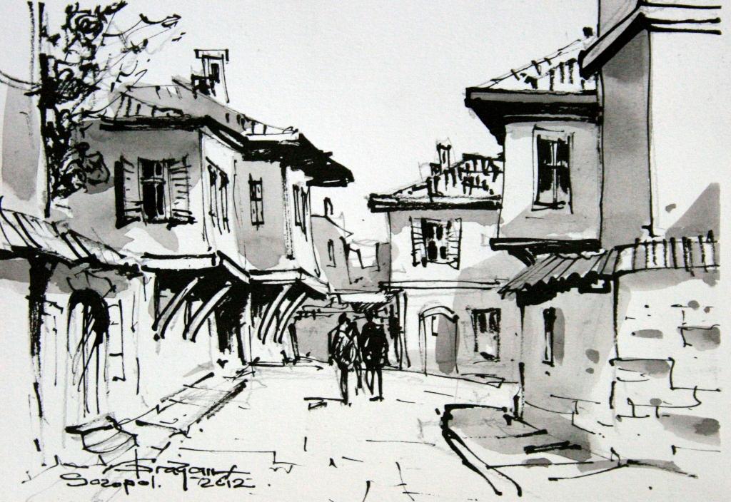 grafica Corneliu Dragan Targoviste 8