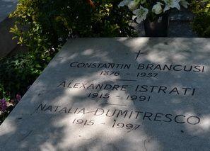 mormant Constantin Brancusi