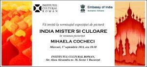 Invitatie India Mister si Culoare - c