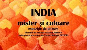 Macheta India Mister si Culoare + sitar