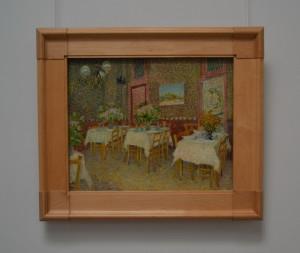 Vincent van Gogh.Interior de restaurant