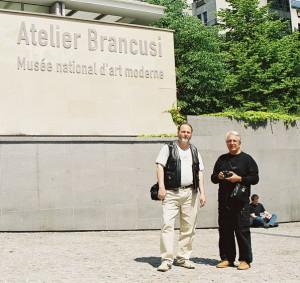 25. Mai 2004 - Atelier Brâncusi, Teodor Vescu et Corneliu Ionescu, Paris