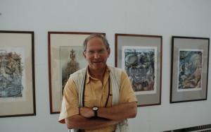 Août 2007 - Exposition galerie Apollo, Bucarest, Tudor Banus et ses oeuvres