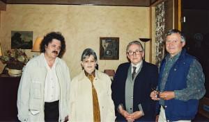 Avril 2002 - Rencontre avec Maria et Dan Hatmanu à Paris