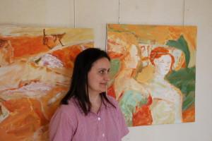 Avril 2008 - Dalia Bialcovski, atelier Briare