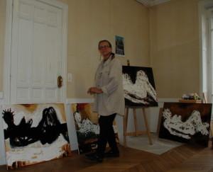 Avril 2009 - Suzana Fantanariu, atelier Briare