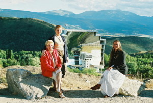 Juillet 2007 - Font-Romeu, Mariana Gavaza, Marilena Preda-Sânc et Suzana Fântânariu