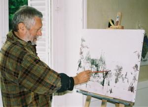 Juin 2006 - Radu Daranga, atelier Briare