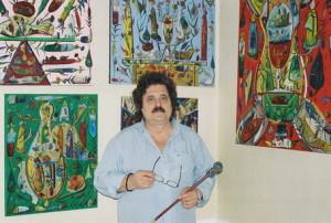 Mai 2005 - Stefan Pelmus, atelier Briare