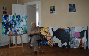 Mai 2009 -  Romul Nutiu, atelier Briare