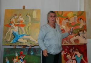 Mai 2011 - Mariuca Otetelesanu, atelier Briare