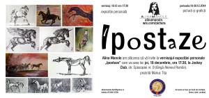 invitatie vernisaj_Ipostaze_expozitie personala Alina  Manole