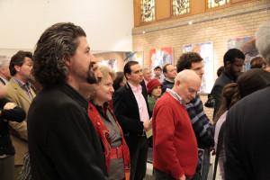 Mars 2011 - Expo EPO, La Haye, Pays Bas, Bogdan Gavaza, l'initiateur de cette manifestation culturelle roumaine