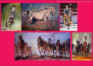 expozitie de arta la Jockey Club decembrie 2015_autor  Alina Manole
