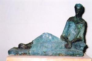4.Sculptura de la Palmira de Ammar Alnahhas