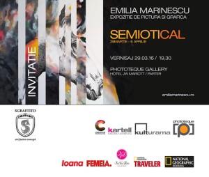 Invitatie Vernisaj Emilia Marinescu