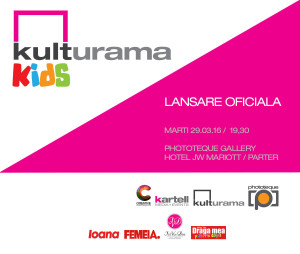 invitatie Kulturama Kids