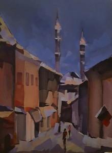 Iarna la Edirne